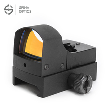 1x22 Auto Light Sense Micro Red Dot Sight with 3/8 Rail 11MM Dovetail Rail Mount for AR15 Rifle Airsoft M4