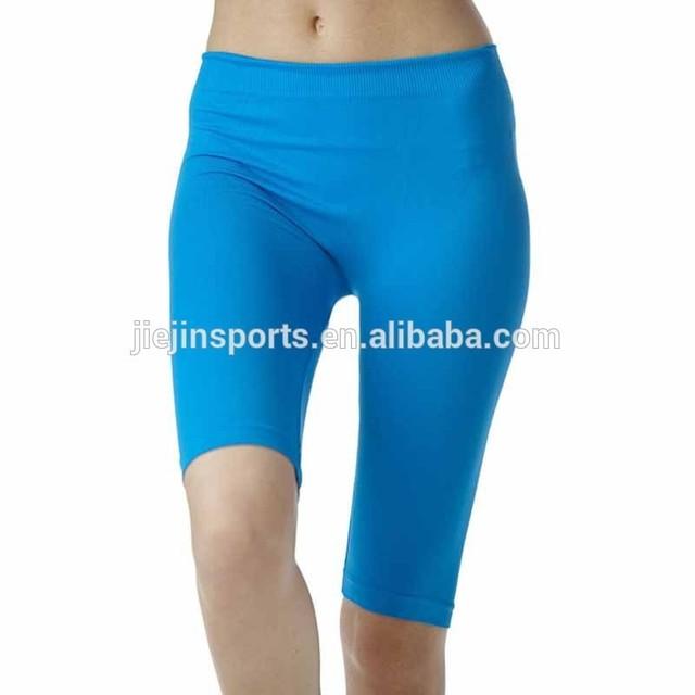 women gym tights custom fitness gym clothes women half yoga pants
