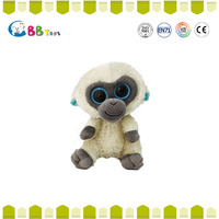 top selling products 2015 ICTI animal toy cute big eyes monkey names plush toys doll