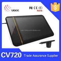 Ugee CV720 8 inch graphic drawing tablet with computer