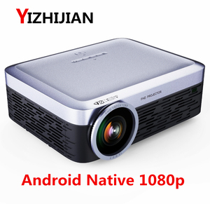 [World CUP Watch ]2018 New Android wifi Native 1080p full hd digital LED portable 4k video multimedia home theater LCD projector