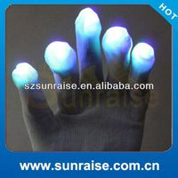 white gloves black light