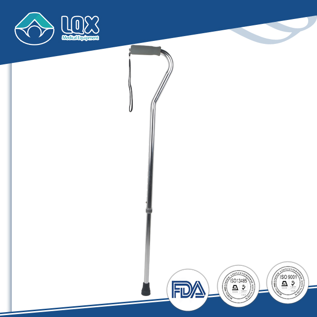 2017 Hot Sale Soft Offset Handle Easy Adjustable Aluminum Durable Offset Cane