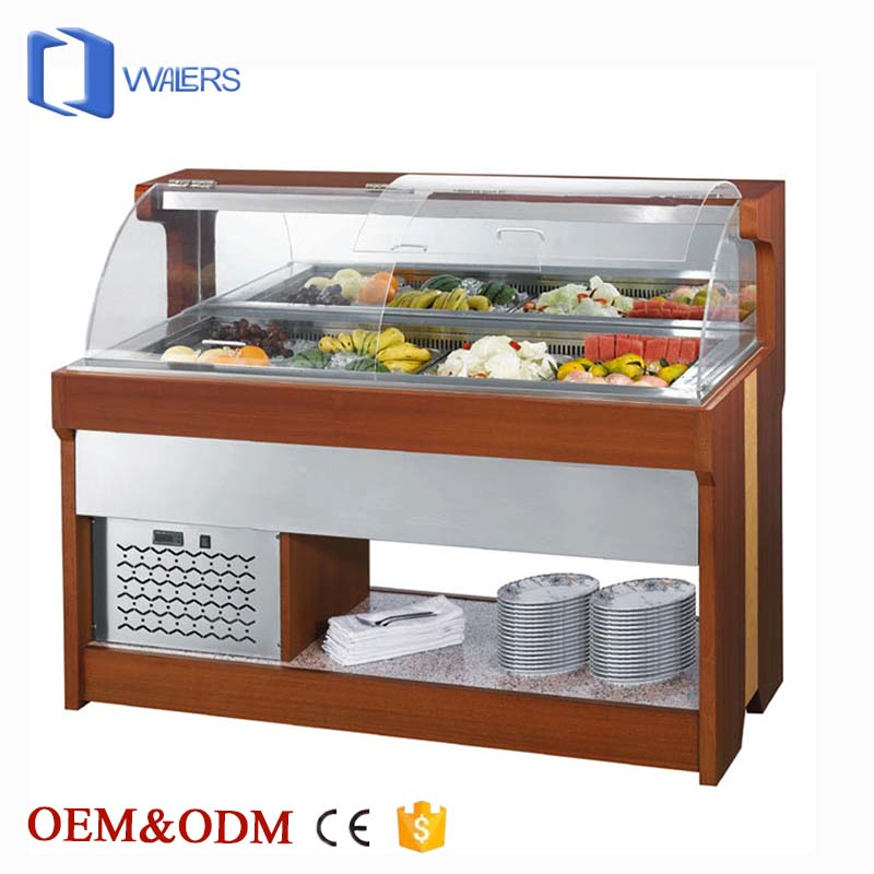 China High quality buffet-style table or counter at a restaurant salad bar for sale