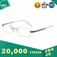 Liquidation Stock, led glasses, 2014 titanium optical frame