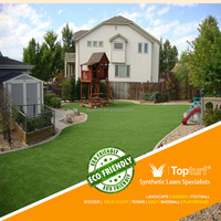 Environmentally Friendly Green Turf Landscaping Artificial