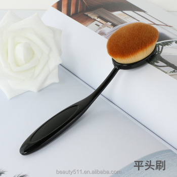 Single brush makeup tools makeup brushes toothbrush foundation brush anti-broken makeup on the 1st toothbrush foundationup brush
