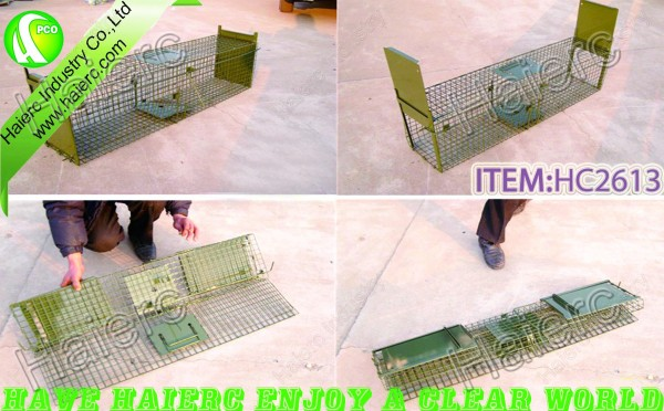 Stainless steel rat trap cage