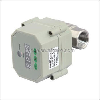 "DN15 1/2"" electric Automatic Drainage Water ball Valve with Timer"