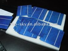 chipped polycrystalline solar cell