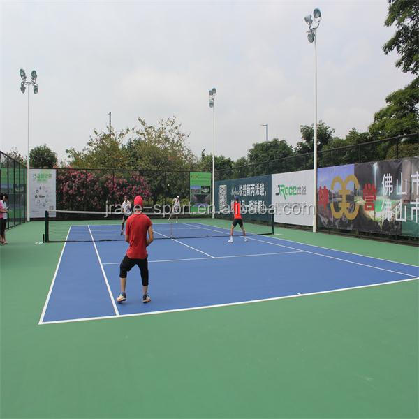 colorful hard sport court flooring tennis court cover for outdoor sport flooring coating