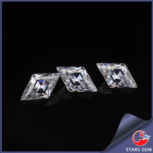 customized kite shape moissanite pure clarity wholesale synthetic loose diamonds
