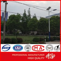 9M Stainless Steel Pole Solar Light with Single Arm