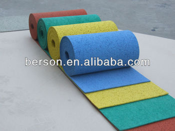 Colorful EPDM Rubber Flooring , Favorites Compare EPDM rubber rolls
