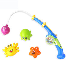 Trend Guangdong Magnetic Fish Game Bath Toy Fishing Set