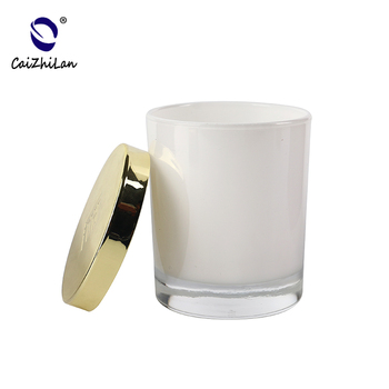 Eco Friendly Glass Candle Jars With Metal Lids,Custom Candle Jar Supplier