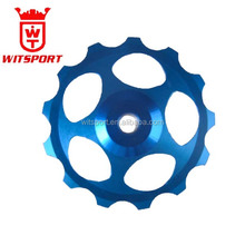 MTB Bike Bicycle 13T steel/ceramic bearing CNC 7075 AL Rear Derailleur Pulley Jockey Wheel