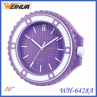 10 inch Cheap Plastic wall watch clock