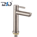 China Supply No Lead Rust-Proof Kitchen Sink Filter Faucets Stainless Steel Single Handle Drinking Water Basin Faucet Deck Mount