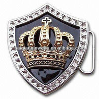 Decorative religious accessories cross for men custom made belt buckles