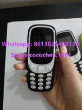 2017 Newest Noka phone 3310 mobile hot selling 1.8""