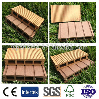 wpc decking 150x25mm hollow