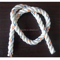 Yellow hot selling 6mm braided nylon rope