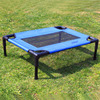 Summer elevated cooling Dog Bed metal frame raised organic dog bed summer use pet bed