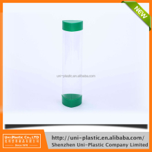 New clear plastic cylinder clear packaging tubes for candy
