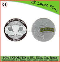 Custom quality challenge coin Army Airborne