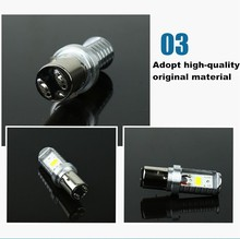 Good feedback plug and play 6W motorcycle led headlight bulb