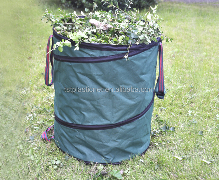 Custom 600D oxford Tuin leaf bag