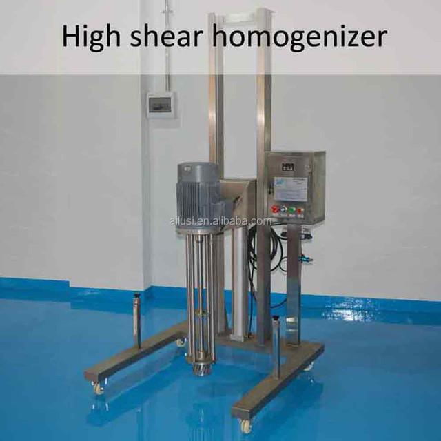 pneumatic high speed homogenizer disperser liquid mixer agitator for chemicals