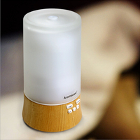 Walgreens 120ml Wood Glass Electric Essential Oil Diffuser adapter Air Purifier With Timer