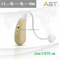 AST Unique Combined Hearing System Sound Amplifier Aid BTE Open Ear