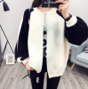 2017 autumn SPRNG NEW KOREAN LADIES LOOSE KNITTED JACKET SWEATER BAT