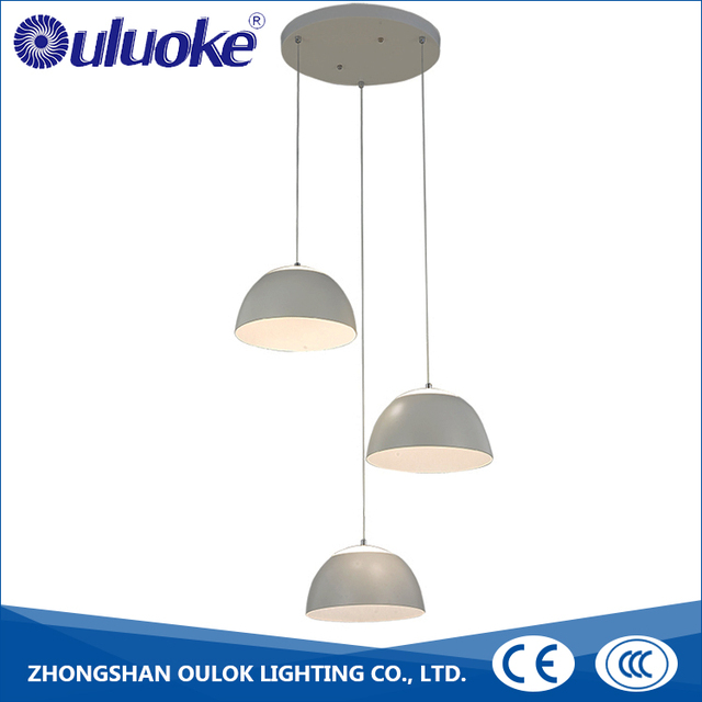 Contemporary Chandeliers Three-Piece Design Pendant Lighting Kitchen Living Room Light