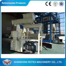 CE Efficient Feed Pellet Machine Type Flat Die Wood Pellet Machine