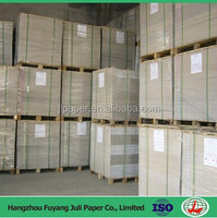 450gsm recycle board coated paper board made from 100% waste paper