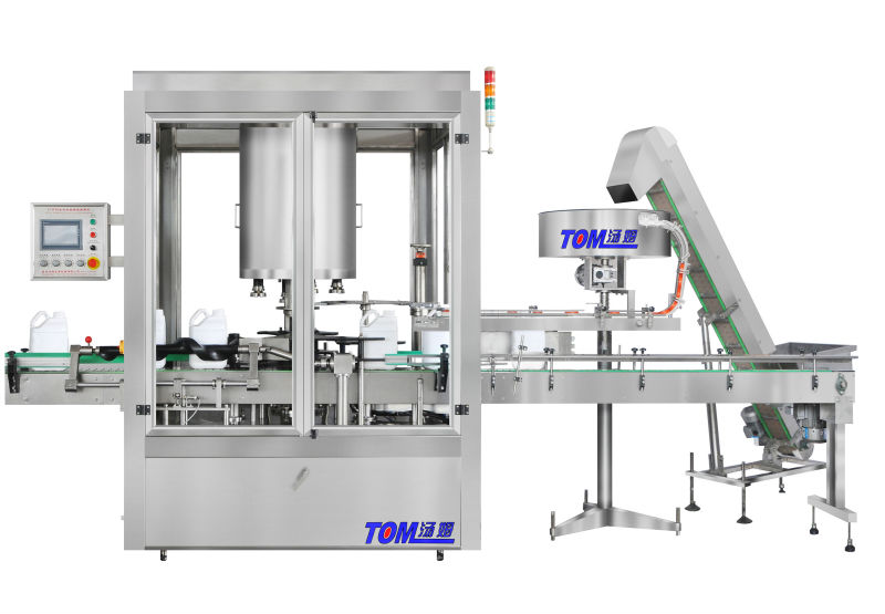 Fully Automatic Rotary Capping Machine fast capping machine
