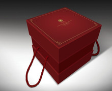 Elegent Mooncake Packaging paper box