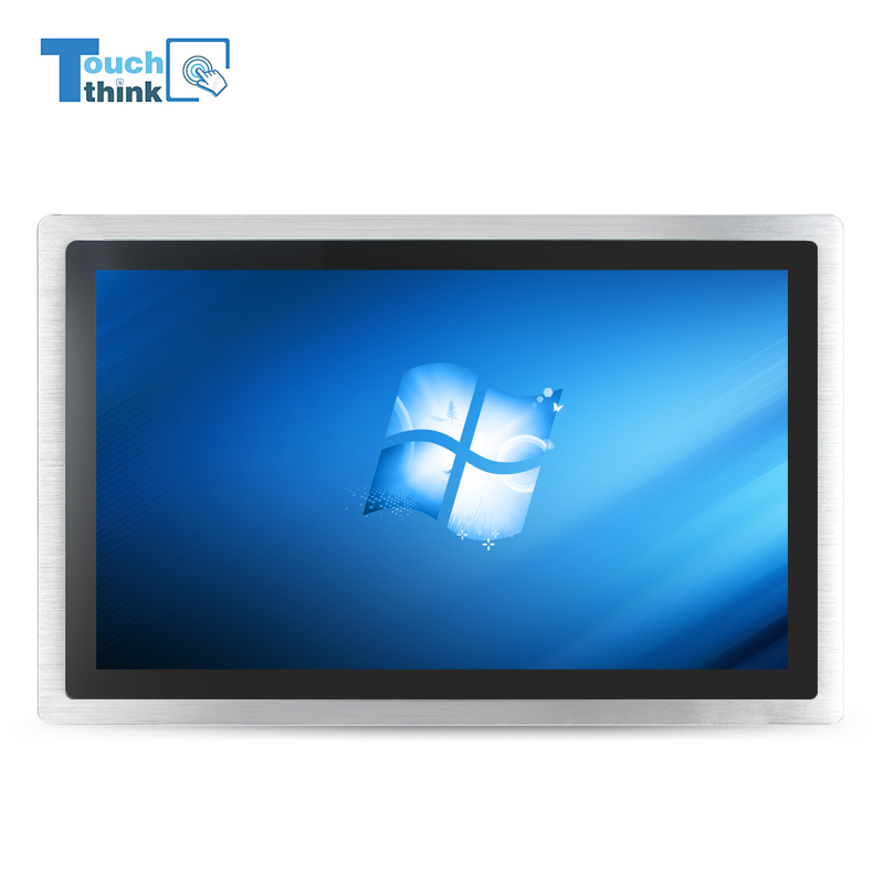 "freeshipping aluminum-alloy bezel 19.1""inch ip65 industrial touch screen pc"