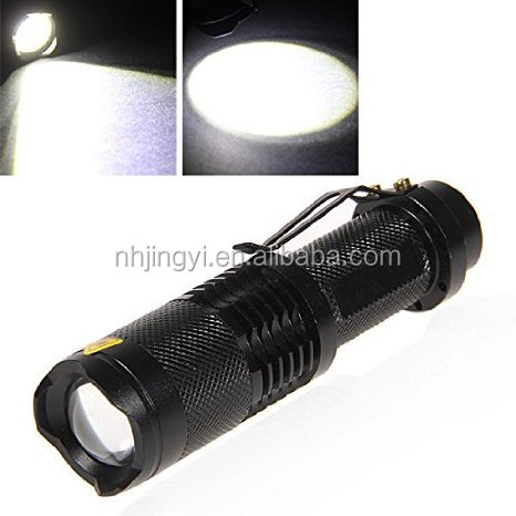 hot sale zoom T6 torch 300 lumen mini flashlight led