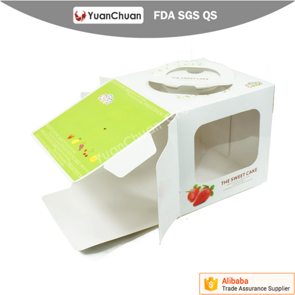 Best price exclusive professional custom banana cake box
