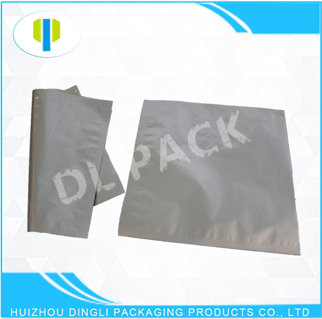 Factory price plain small aluminum foil ziplock bags