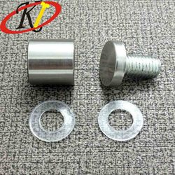Chinese manufacturer Oukailuo Stainless steel flat round head Glass connector and Furniture decoration screws