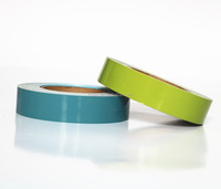 Self Adhesive Multicolour Warning PVC Marking Tape,Solvent Acrylic Adhesive Double Sided VHB Foam Tape