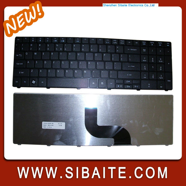 laptop keyboard for Acer Aspire 5536 5810 5738 Series Laptop UK Keyboard ANY ONE KEY