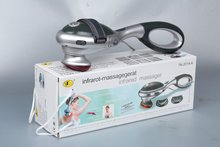 Intelligent Interchangeable Heads Infrared Handheld Body Massager 22W