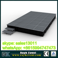 high quality stand up commercial outdoor concert stage sale hydrographic printing equipment